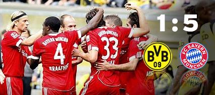 Дортмунд 1-5 Баерн